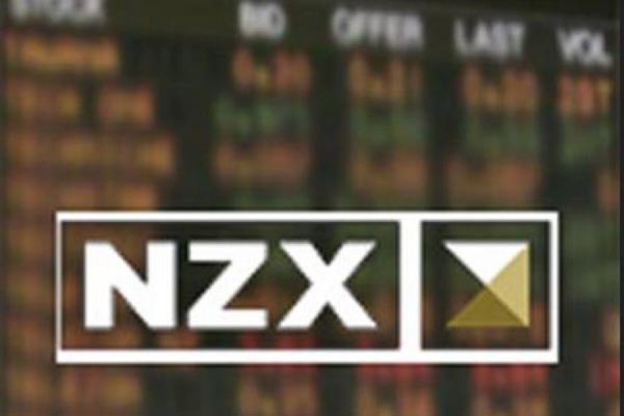 NZ shares fall after Wall Street gains