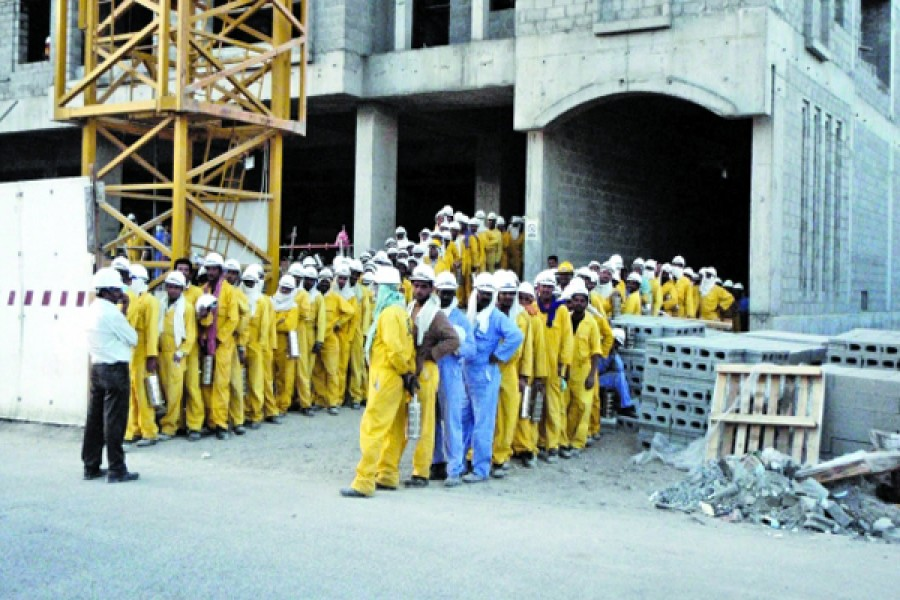 Bangladesh workers in Oman not getting salary timely