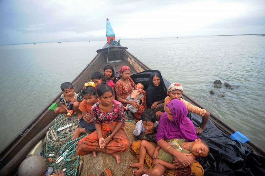 16 more bodies of Rohingyas in Naf river, more get admitted to CMCH