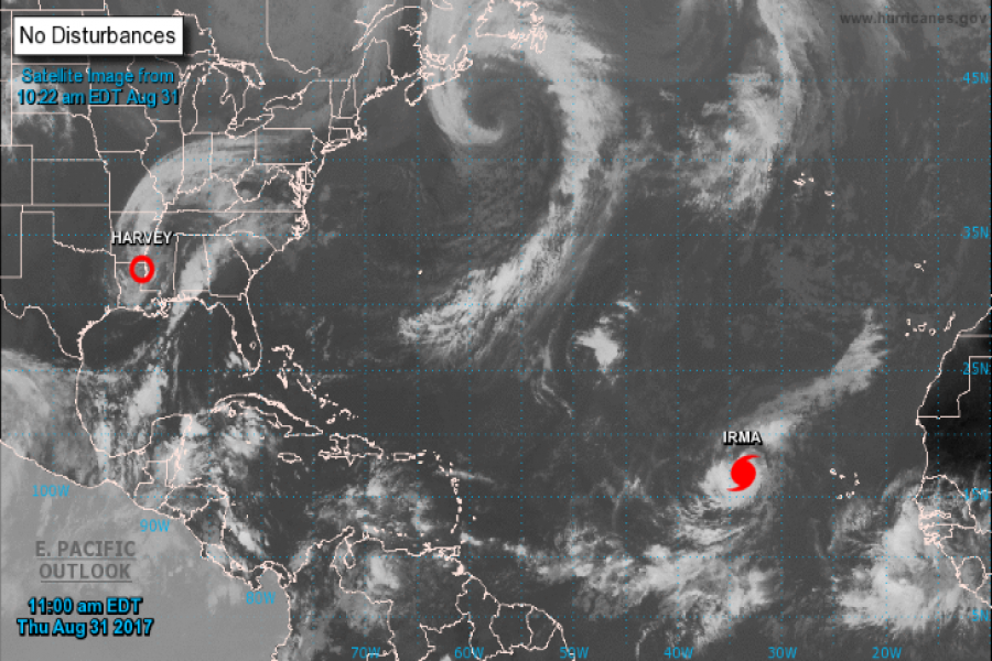After Harvey, another monster hurricane brewing in the Atlantic