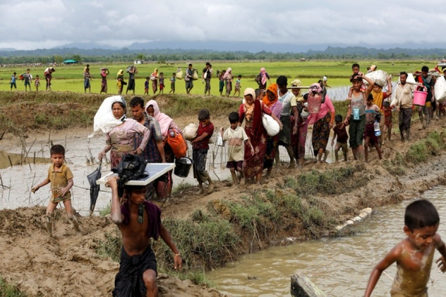 One more floating body raises Rohingya toll to 50