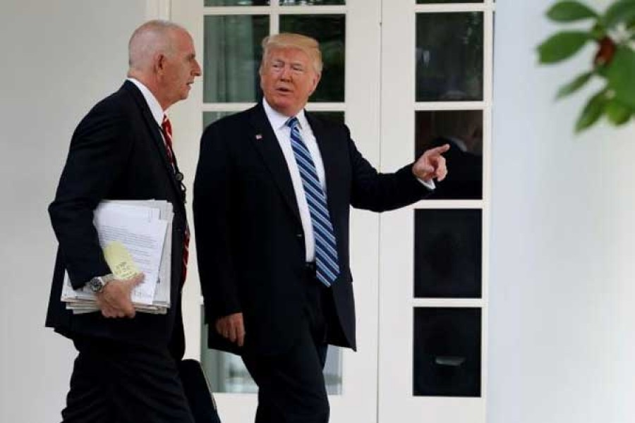 Longtime Trump aide Schiller to leave White House
