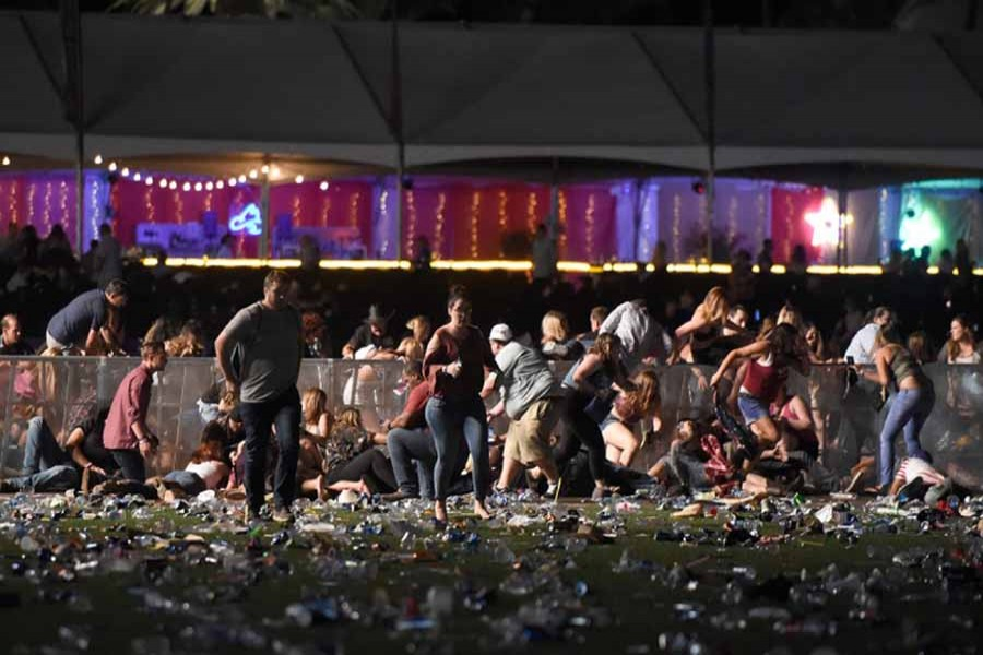 Shocking massacre in Las Vegas concert