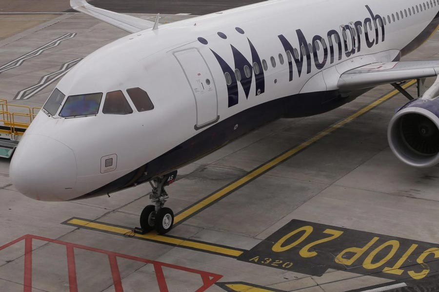 60pc of Monarch passengers back  in the UK