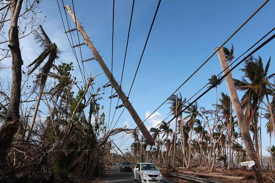 More than five weeks after Storm Maria, most Puerto Ricans are still in the dark. - Reuters file photo