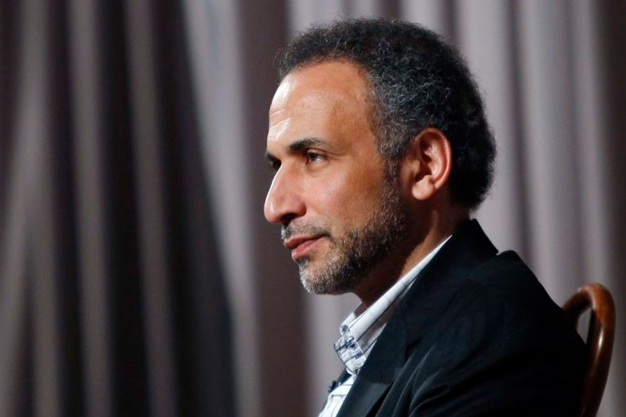 Tariq Ramadan, a Swiss citizen of Egyptian origin, is the president of the thinktank European Muslim Network in Brussels and teaches at Britain's Oxford University.  (Reuters photo)