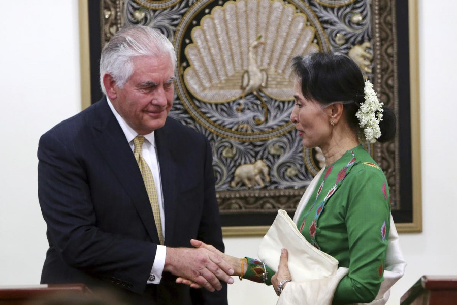 US might opt individual sanctions for Myanmar
