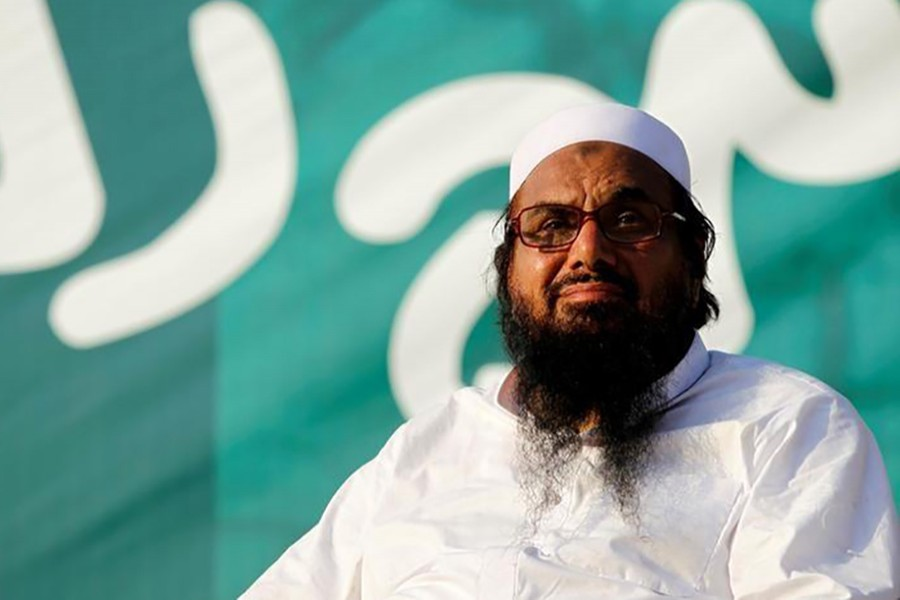 India accuses Saeed and his organisation of carrying out several militant attacks on its territory.  The cleric, however, has denied any involvement. - Reuters file photo