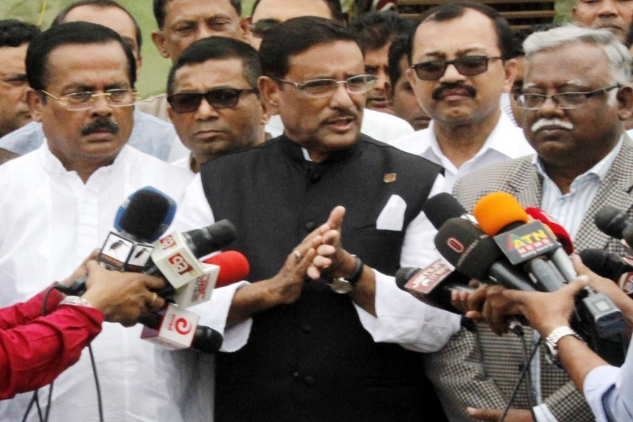 Quader accuses BNP of 'complaining too much'