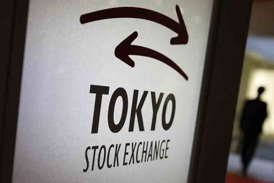 Japanese shares climb 20pc in 2017