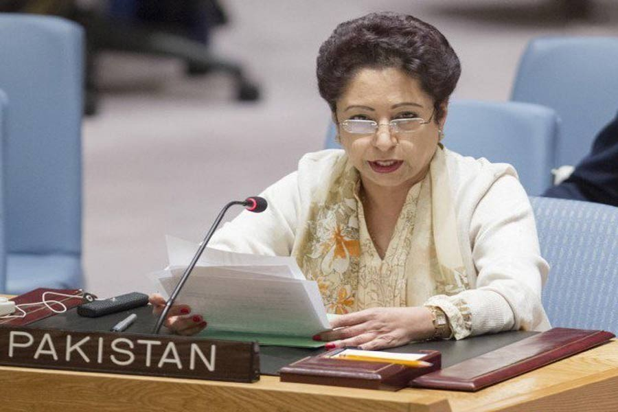 Pakistan's Ambassador to the United Nations (UN) Maleeha Lodhi,photo collected