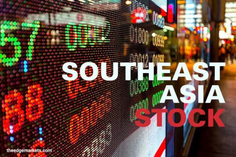Southeast Asian stocks mostly higher