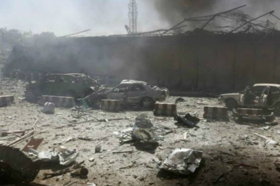 A suicide bombing attack has claimed at least 20 lives in Kabul,Photo India times