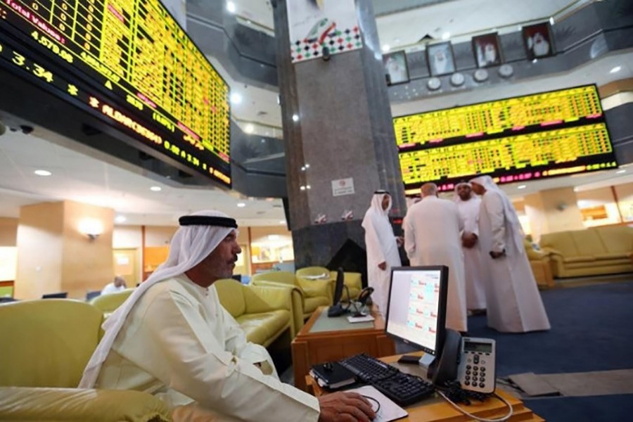 Gulf stock markets slow at opening