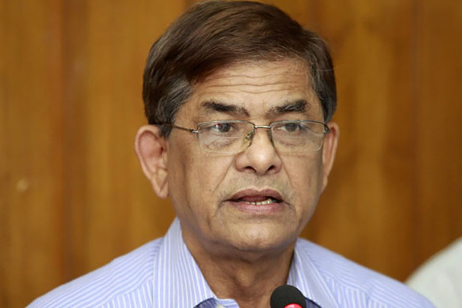 BNP's outline for election-time govt at appropriate time: Fakhrul