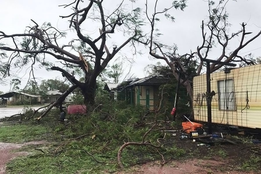 A red alert is in place for residents in northern Western Australia for Tropical Cyclone Kelvin. (Photo collected from internet has been used for representational purpose only)