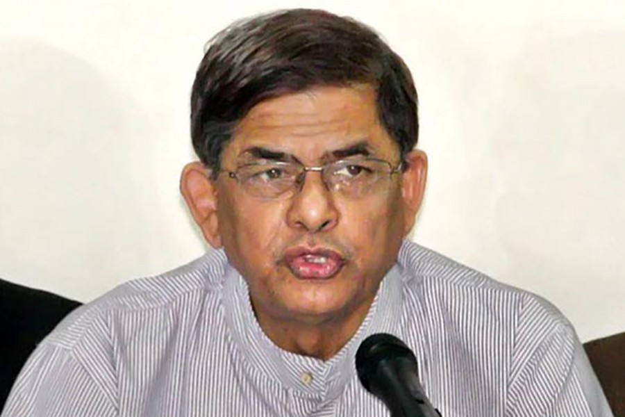 File photo shows BNP Secretary General Mirza Fakhrul Islam Alamgir