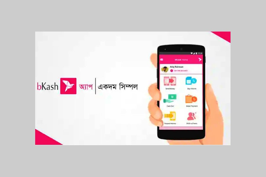 bKash app sees download spree