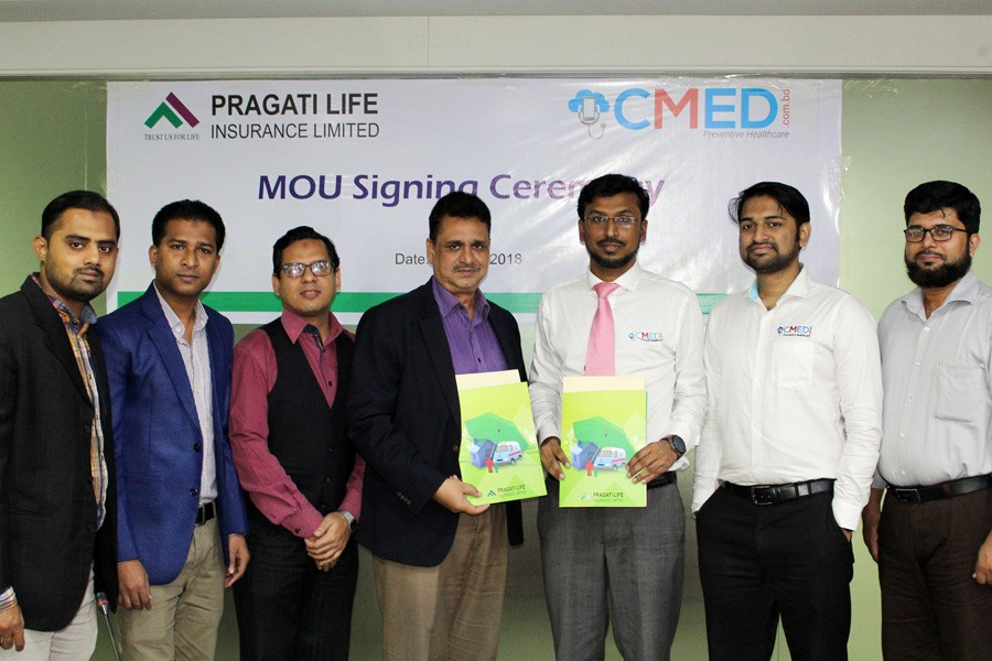 Pragati Life inks MoU with CMED Health