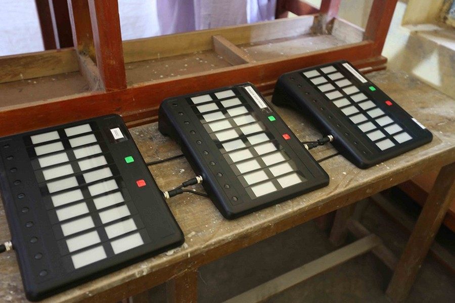 EC moves one step closer to procure EVMs for next general election, says Fakhrul alleging that vote rigging will be made easy. File photo