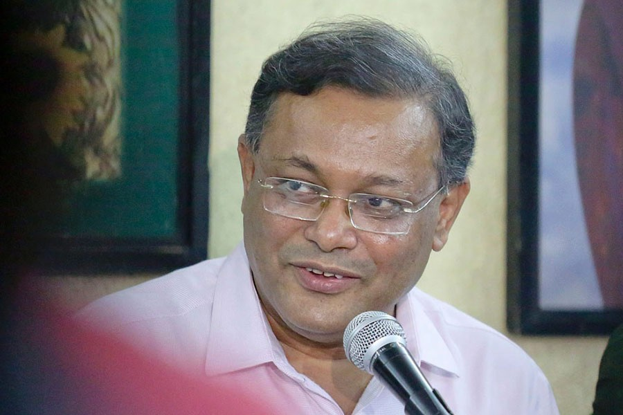 BNP's politics limited to only holding press conferences: Hasan Mahmud