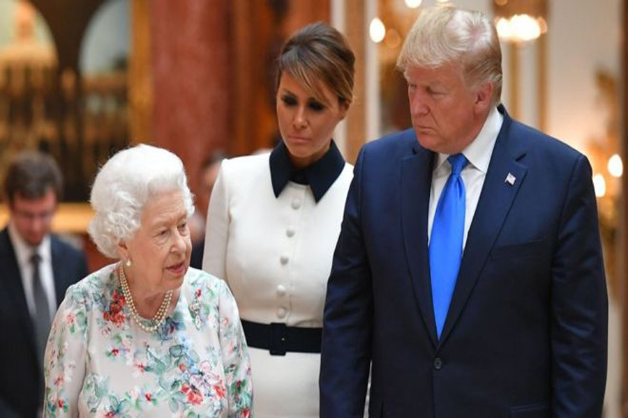 Trump to join Queen for 75th D-Day anniversary