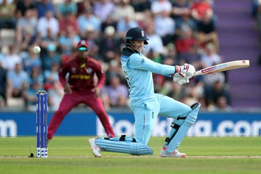 England crushes West Indies by eight wickets