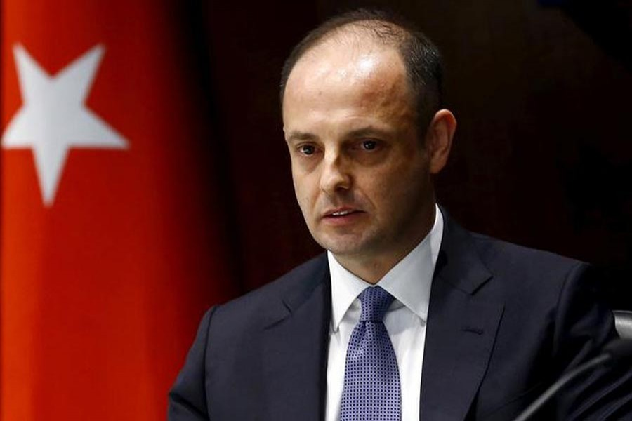 File photo of Turkey's new central bank governor Murat Cetinkaya (Reuters)