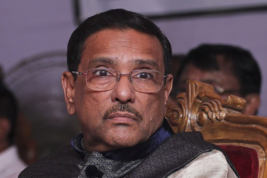 Hartal lost its appeal, says Quader