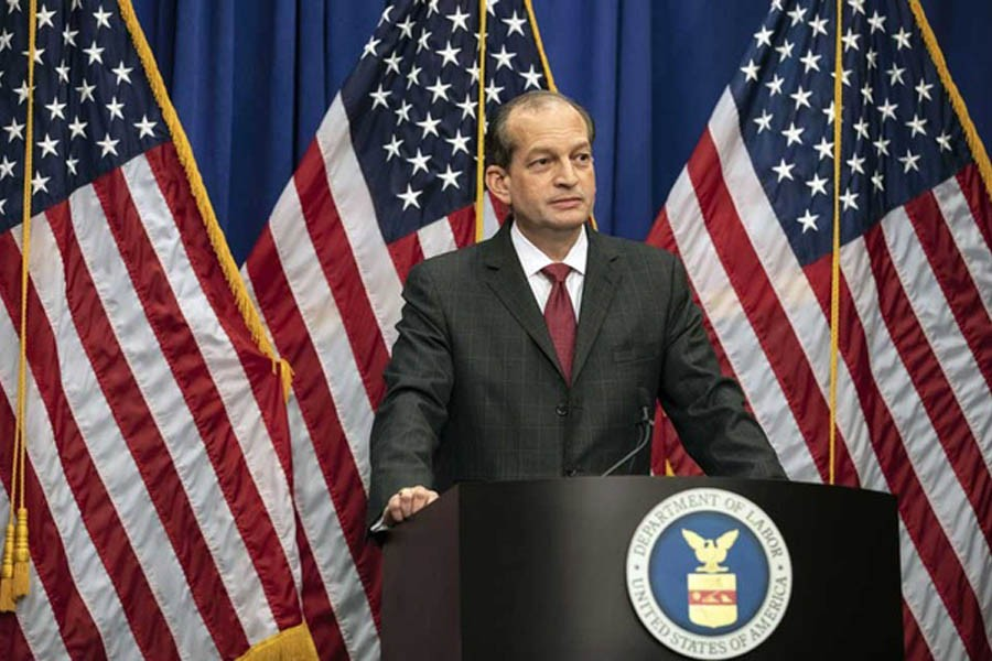 US labour secretary to resign