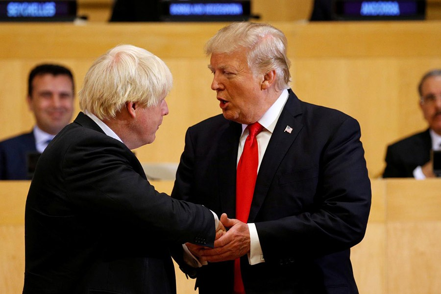 New British PM will be great, Trump says