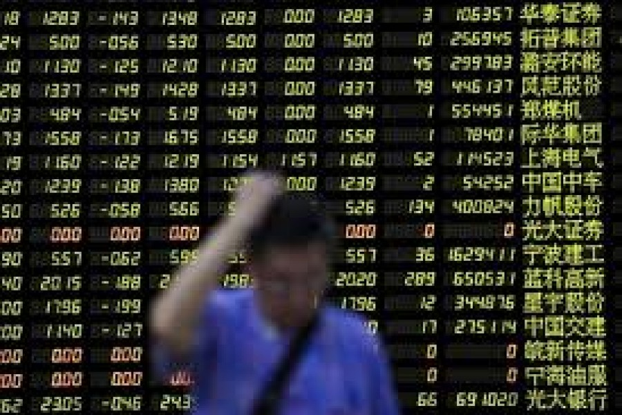 Asia shares tumble on Hong Kong unrest
