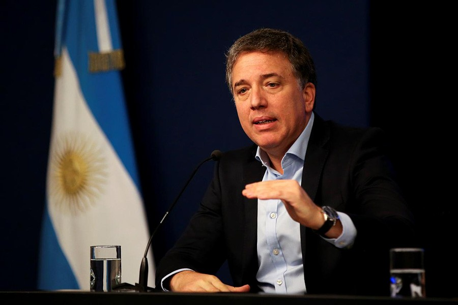 Argentina's treasury minister resigns