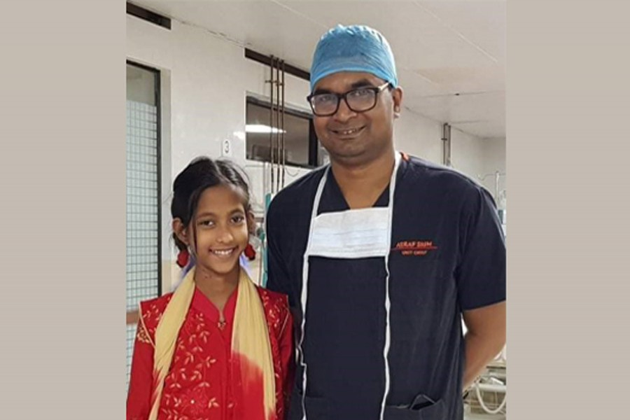 Nupur returns home after successful invasive cardiac surgery at NICVD