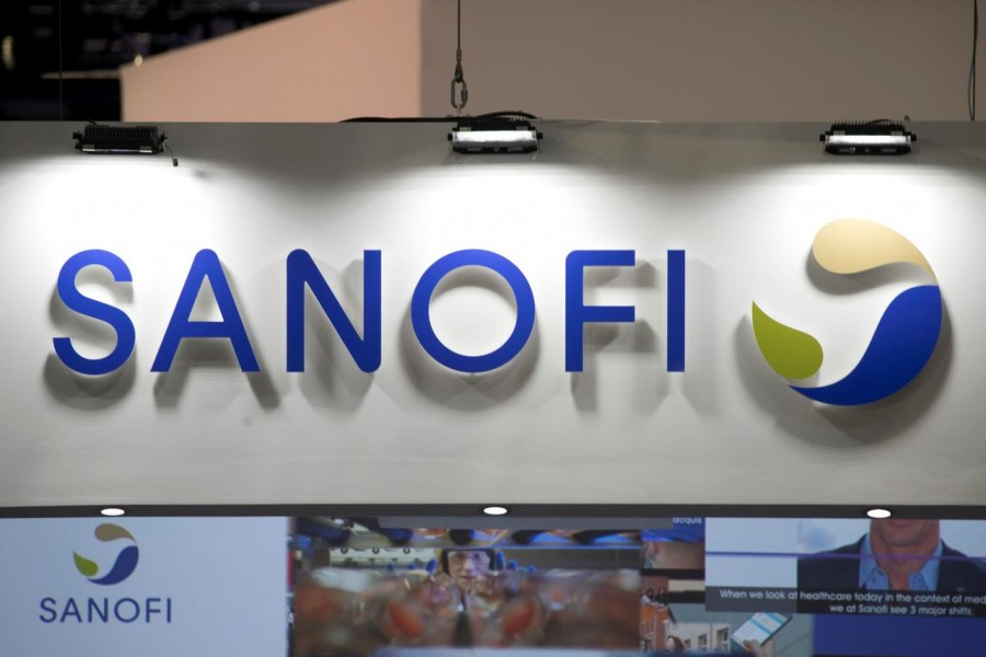 The logo of Sanofi is pictured during the Viva Tech start-up and technology summit in Paris, France, May 25, 2018. REUTERS/Charles Platiau