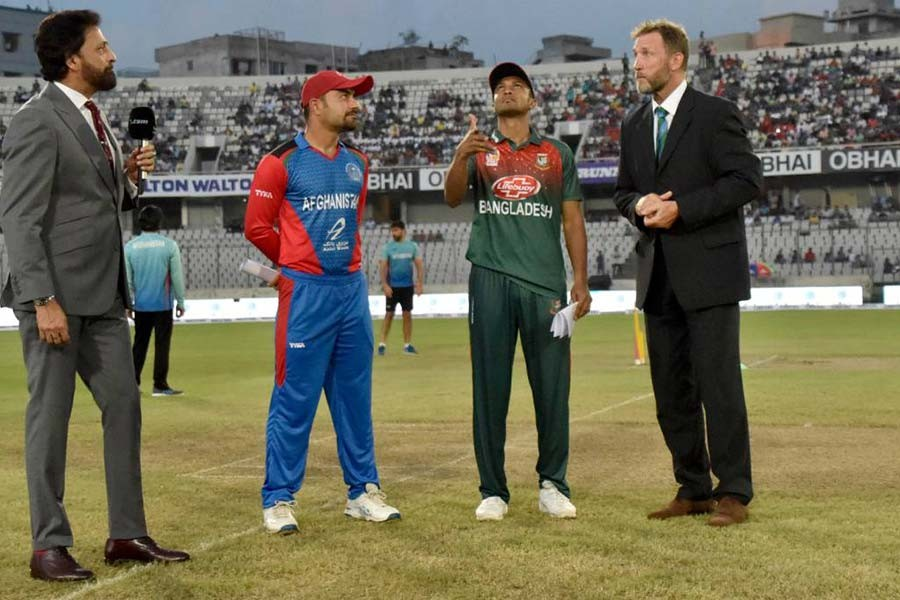 Afghanistan win toss, opt to bat first against Bangladesh