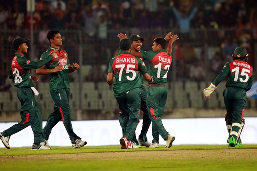 Tigers to chase 165 runs against Afghanistan