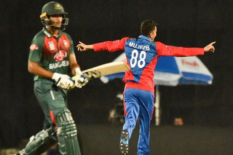 Afghanistan beats BD by 25 runs