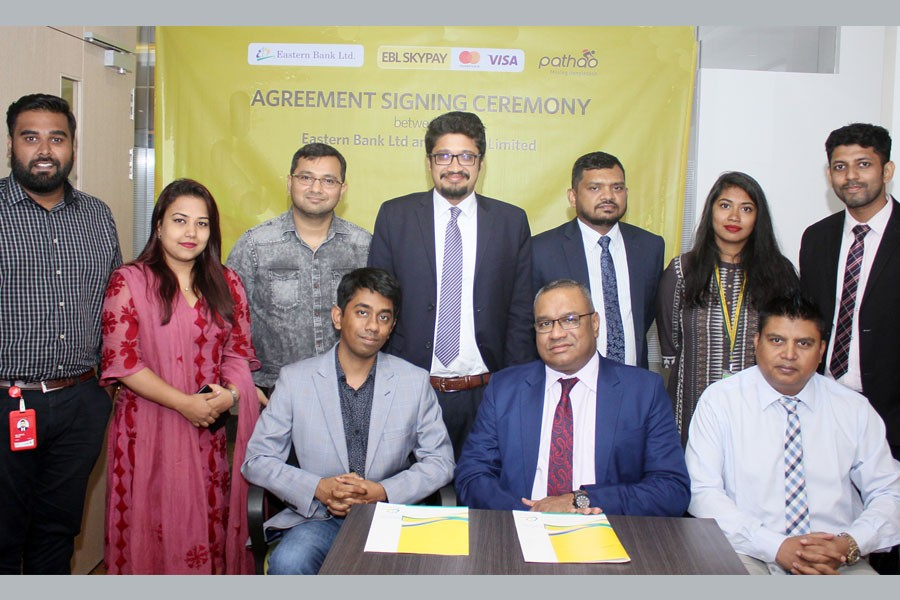 Pathao opts for EBL SKYPAY