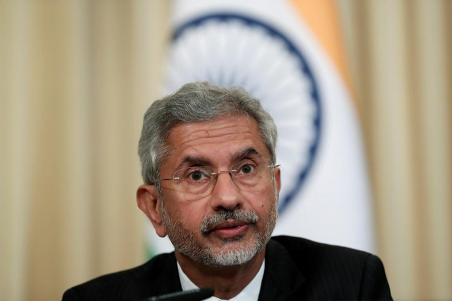 India's Foreign Minister Subrahmanyam Jaishankar attends a news conference after a meeting with Russia's Foreign Minister Sergei Lavrov in Moscow, Russia on August 28, 2019 — Reuters/Files