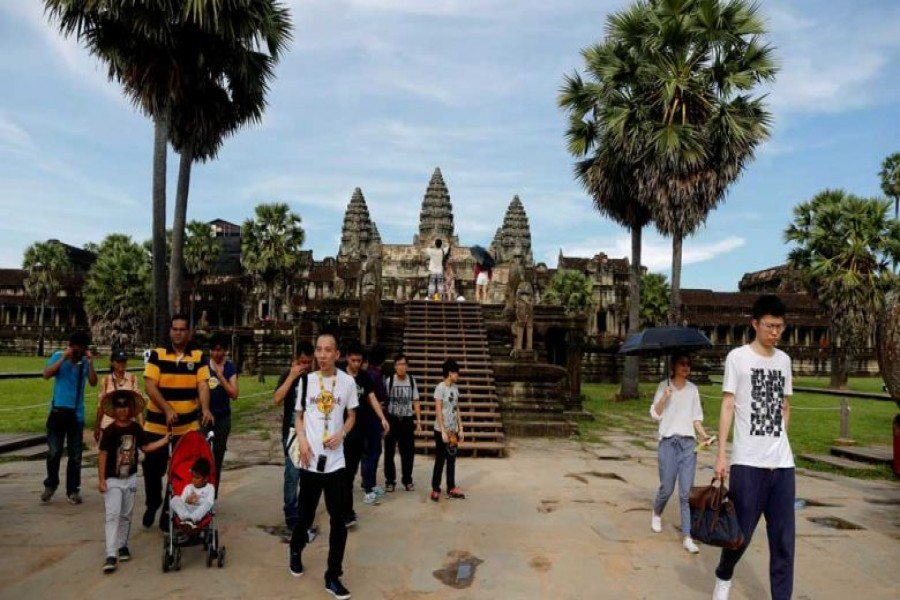 Cambodia unveils masterplan to boost tourism in two world heritage sites