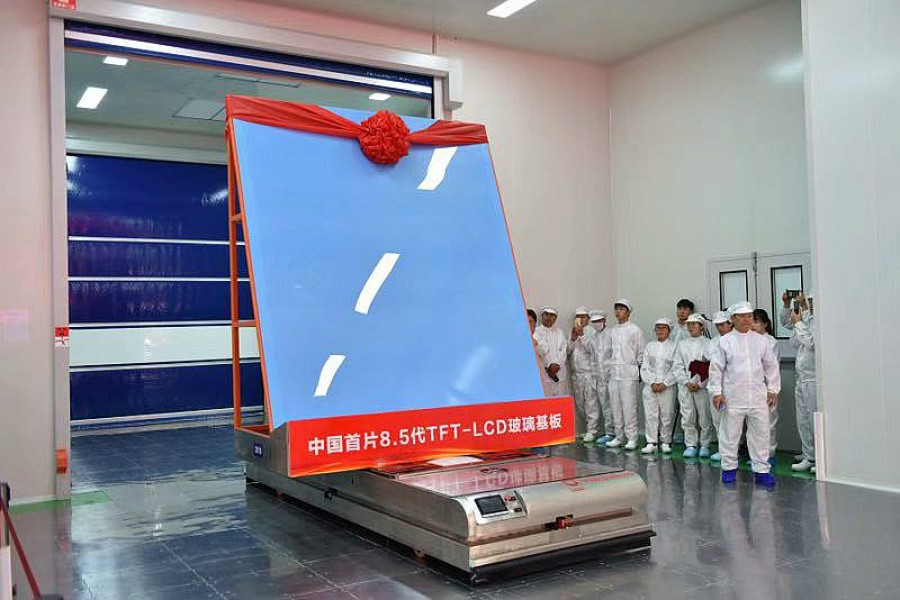 China ready for mass production of self-developed LCD screen