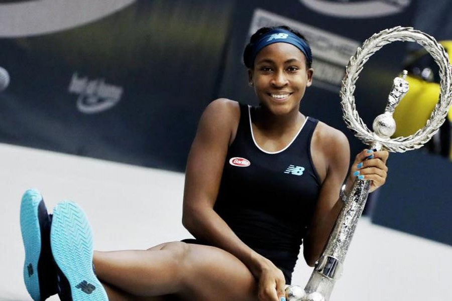 15-year old Gauff becomes youngest WTA title winner in 15 yrs
