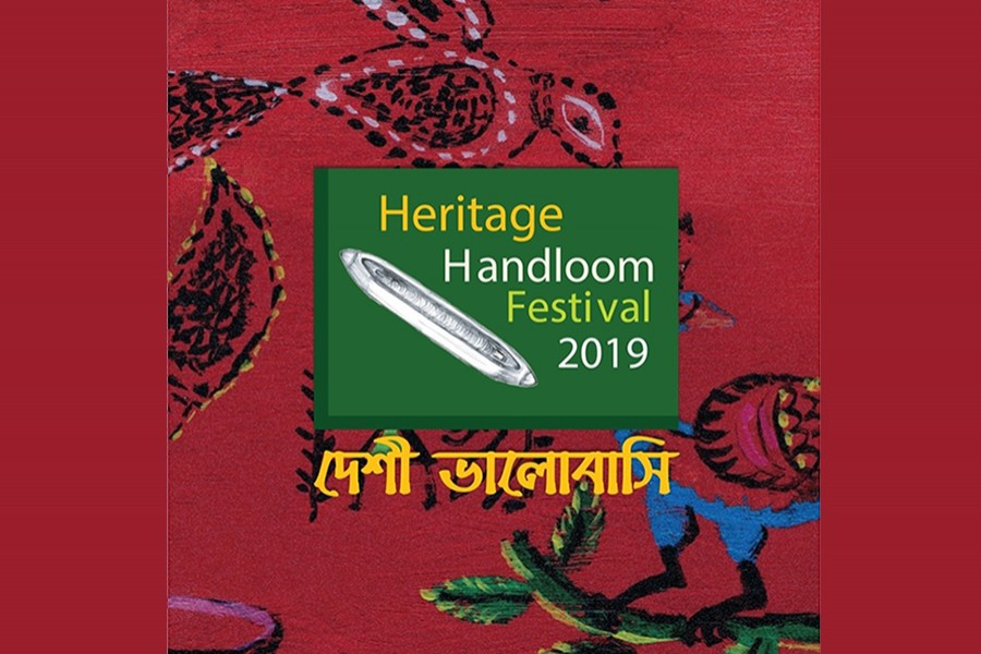 Four-day heritage handloom festival begins Wednesday