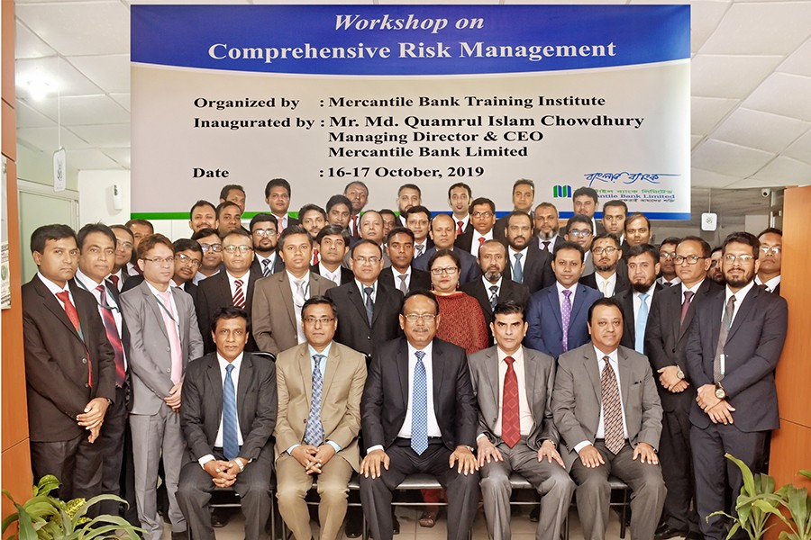 Mercantile Bank workshop on 'comprehensive risk management'