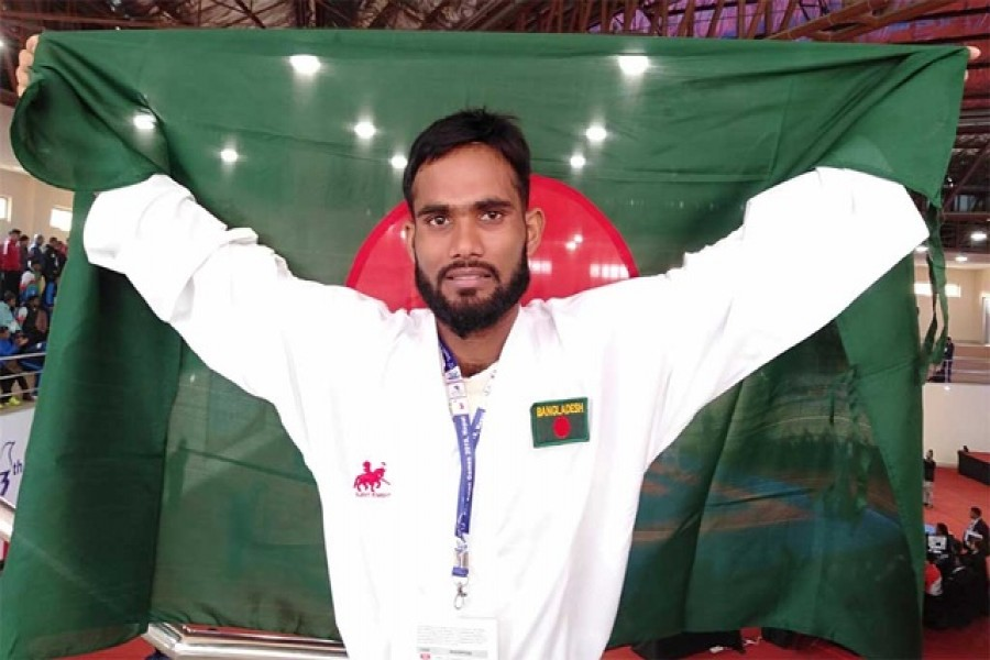 Al Amin wins second gold medal for Bangladesh in SA Games