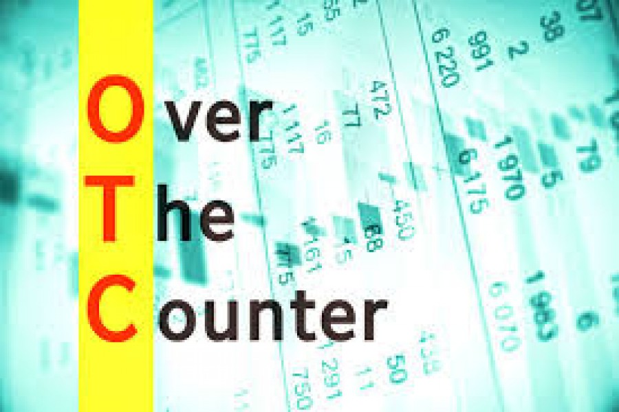 Turnover on OTC market hits two-year low