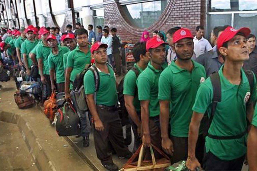 Deportation of Bangladesh workers