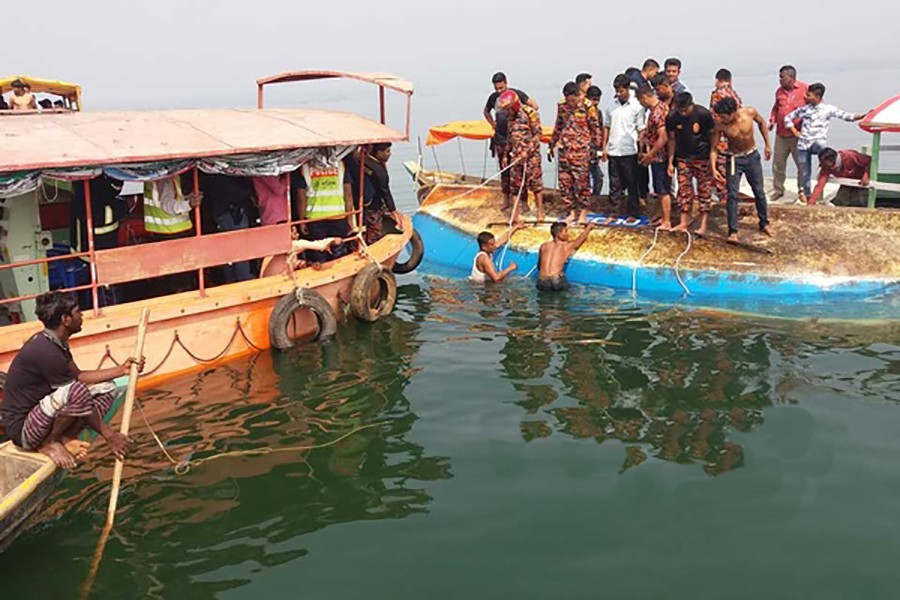 Five dead as boat capsizes in Rangamati's Kaptai Lake