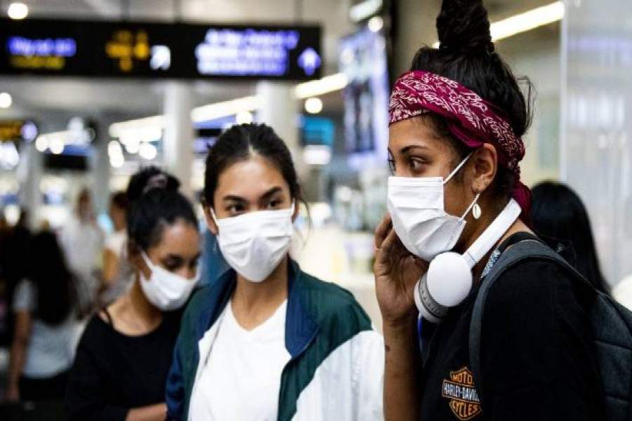 Globally the outbreak has led to over 100,000 cases of the fast-spreading illness and killed more than 3,400 people across over 90 nations - AP file photo